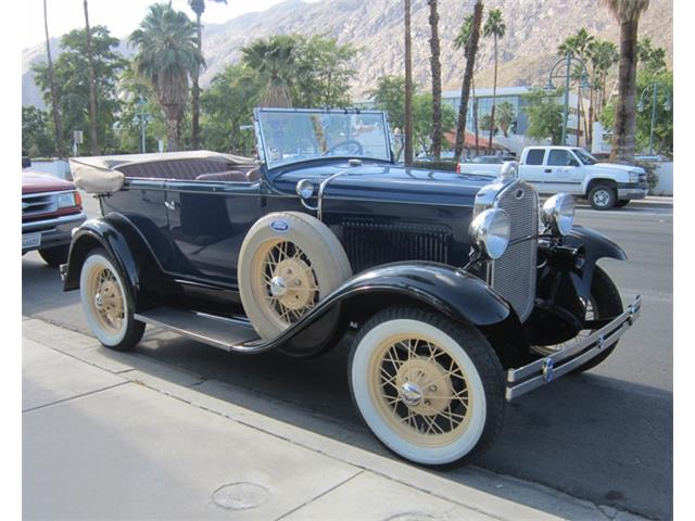 1930 FORD MODEL A 2DR PHAETON | 944195