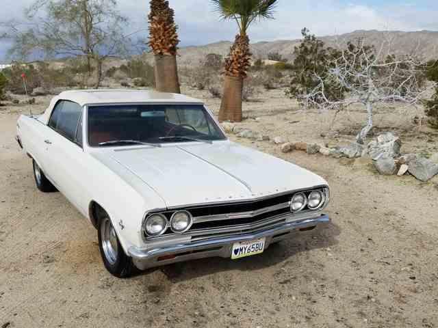 1965 Chevrolet MALIBU SS CVTBLE | 944217