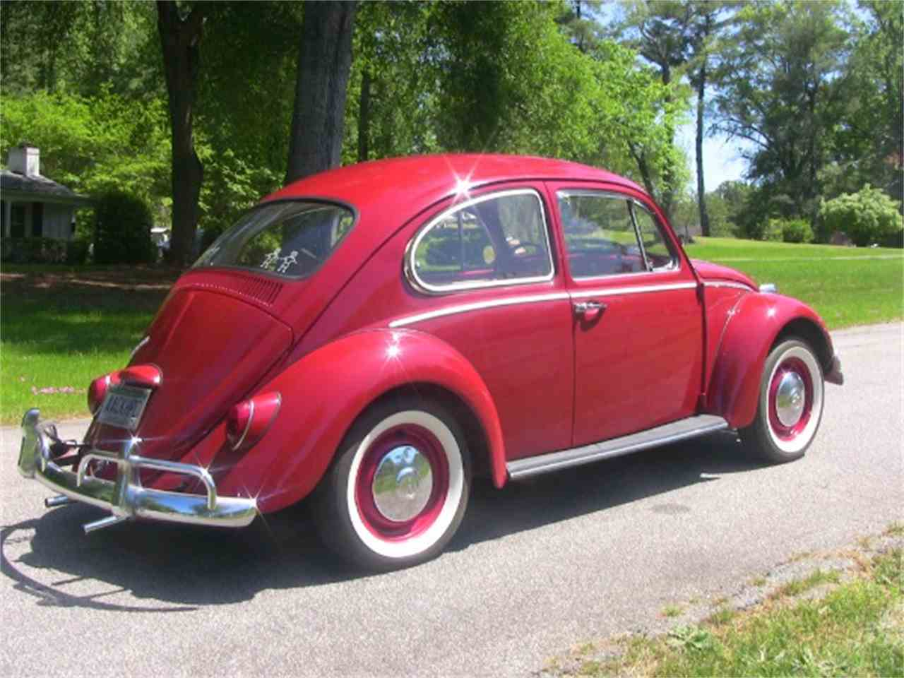 1966 volkswagen beetle for sale cc 944937. Black Bedroom Furniture Sets. Home Design Ideas