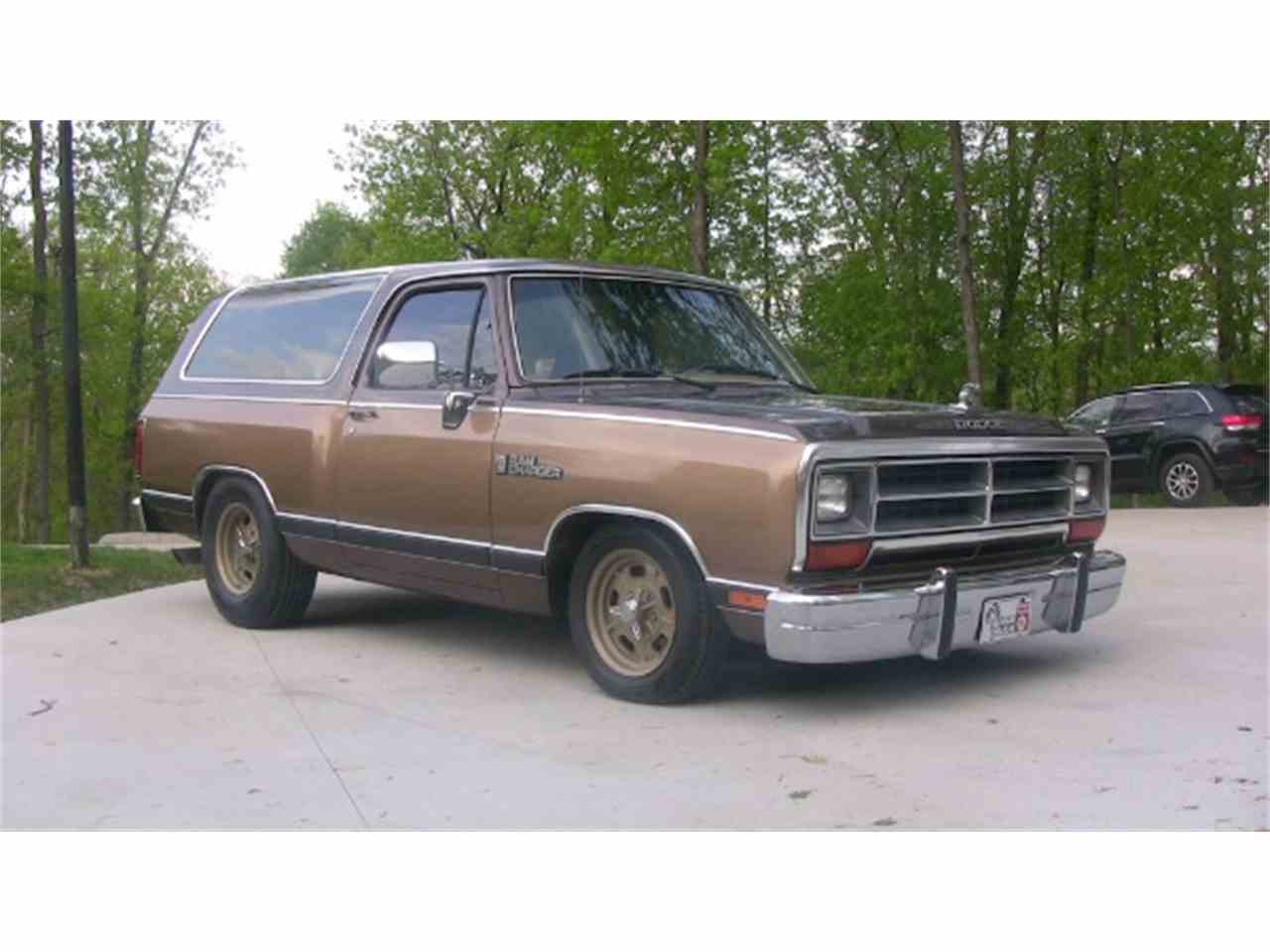 Dodge Trucks For Sale By Owner >> 1988 Dodge Ramcharger for Sale | ClassicCars.com | CC-944954