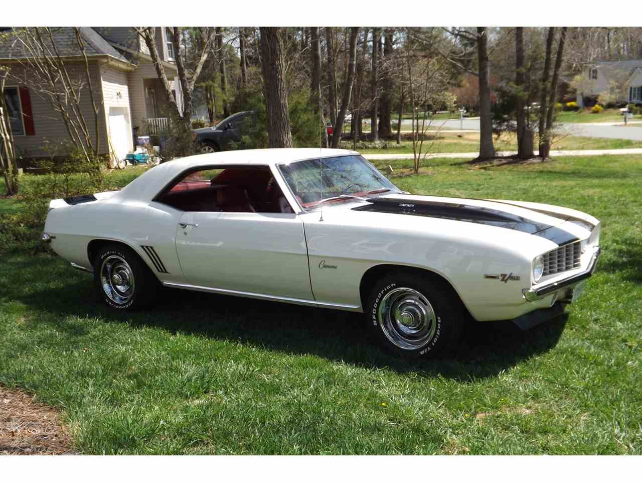 1969 chevrolet camaro z28 for sale cc 944987. Black Bedroom Furniture Sets. Home Design Ideas