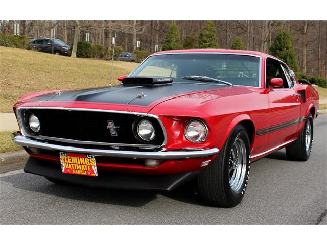 1969 Ford Mustang Mach 1 428 Cobra Jet | 945051