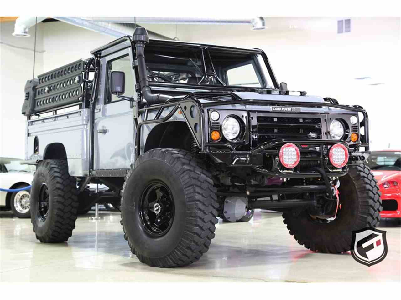 1984 land rover defender 110 high capacity pickup truck for sale cc 945092. Black Bedroom Furniture Sets. Home Design Ideas