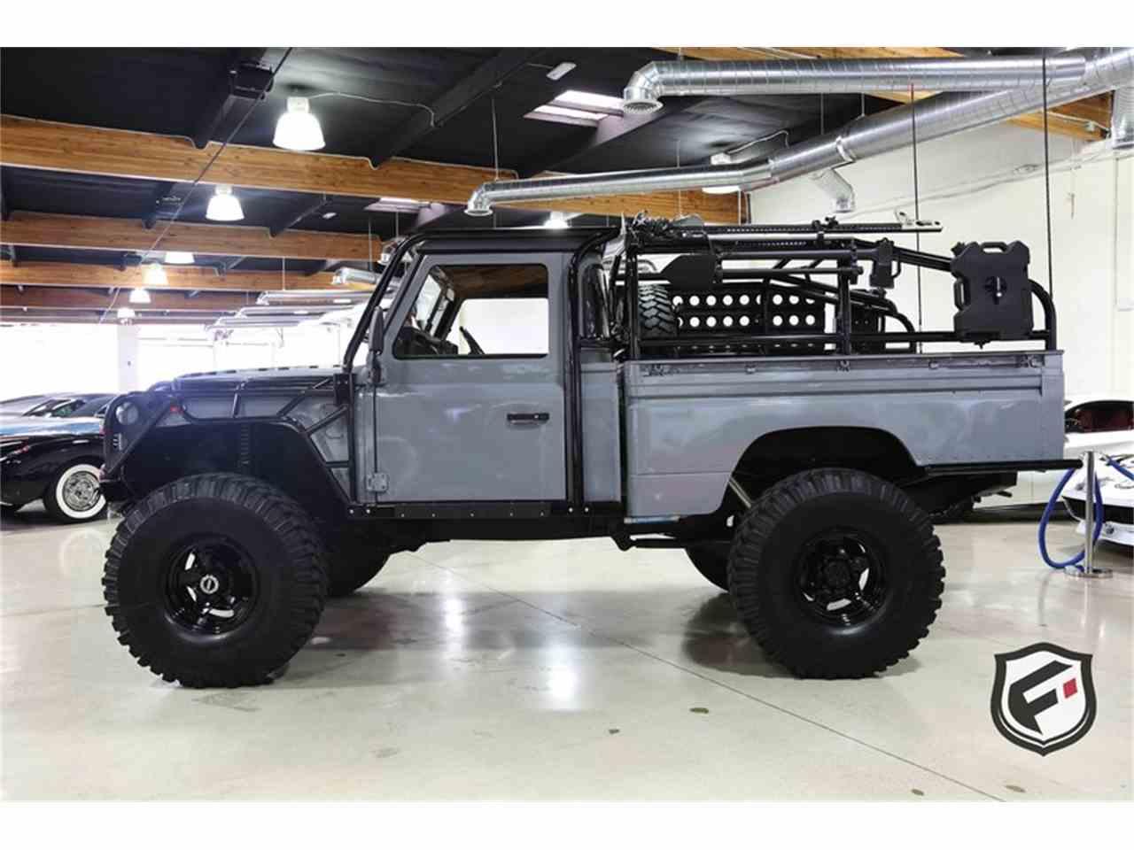 1984 Land Rover Defender 110 High Capacity Pickup Truck