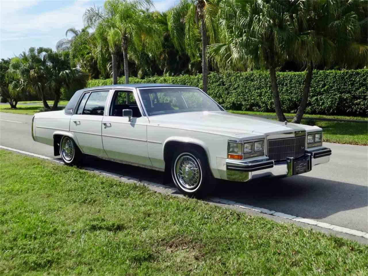 1984 Cadillac Sedan DeVille for Sale | ClassicCars.com ...