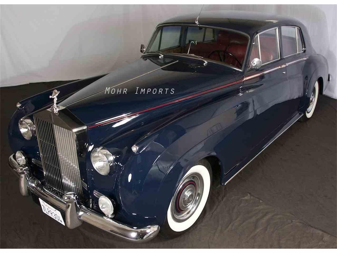 1958 rolls royce silver cloud for sale cc 945539. Black Bedroom Furniture Sets. Home Design Ideas