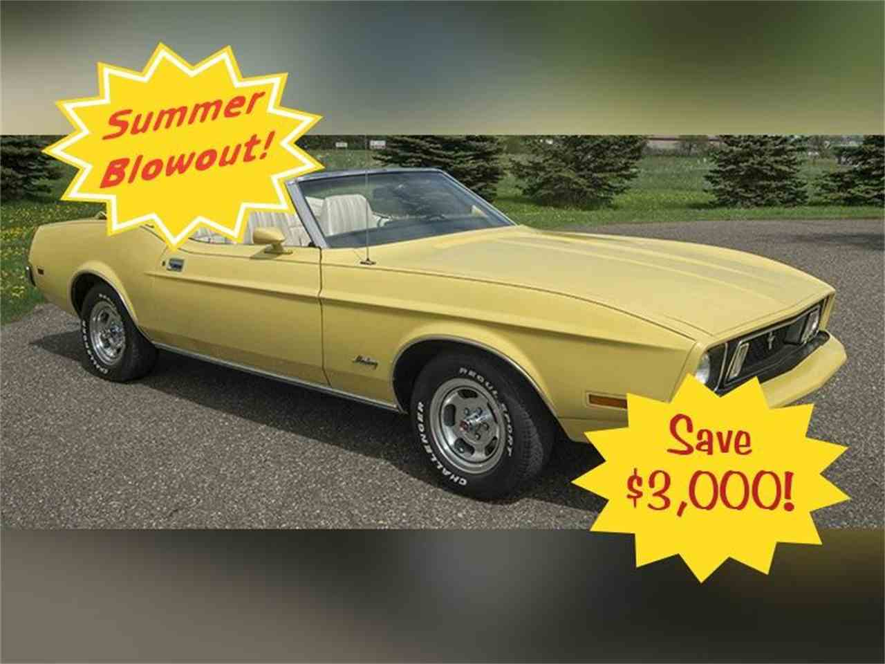 Large Picture of Classic '73 Ford Mustang Offered by Ellingson Motorcars - K5R9