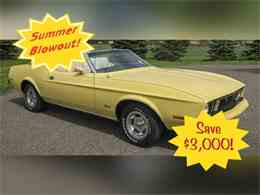 Picture of 1973 Mustang located in Minnesota Offered by Ellingson Motorcars - K5R9