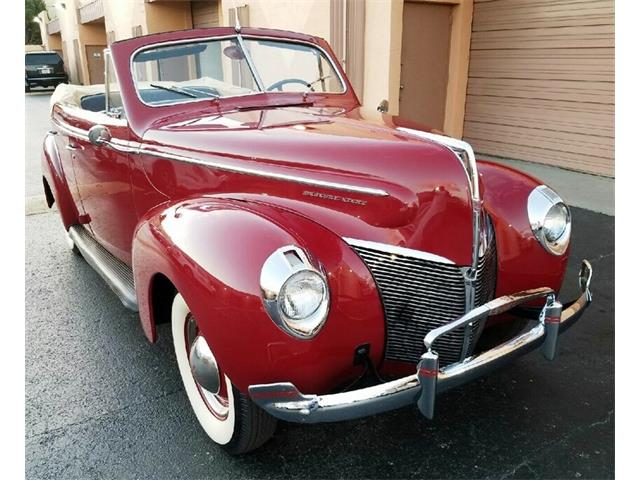 1940 MERCURY MERCURY 8 CONVERTIBLE SEDAN | 945895