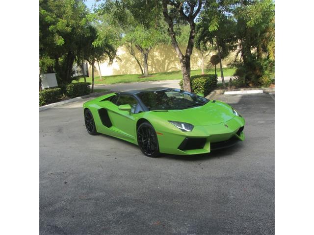 2015 Lamborghini Aventador   945975