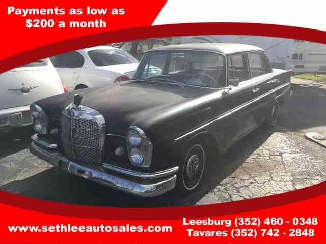 1963 Mercedes 220B | 946122