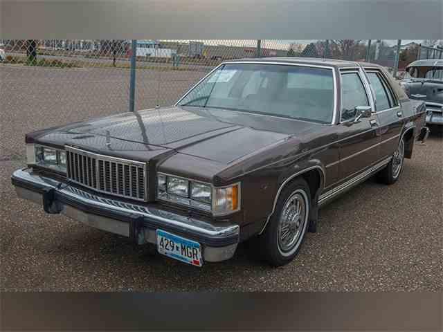 1985 Mercury Grand Marquis   940615