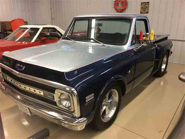 1969 CHEVROLET CUSTOM PICKUP STEP SIDE | 946294