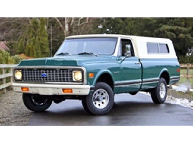 1971 Chevrolet C10 1/2 Ton 4x4   940067