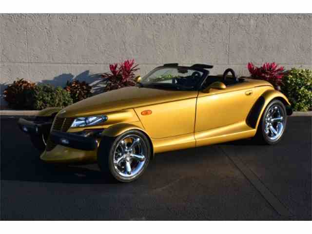 2002 Chrysler Prowler 1 of 583 in Inca Gold Only 3000 miles | 946837