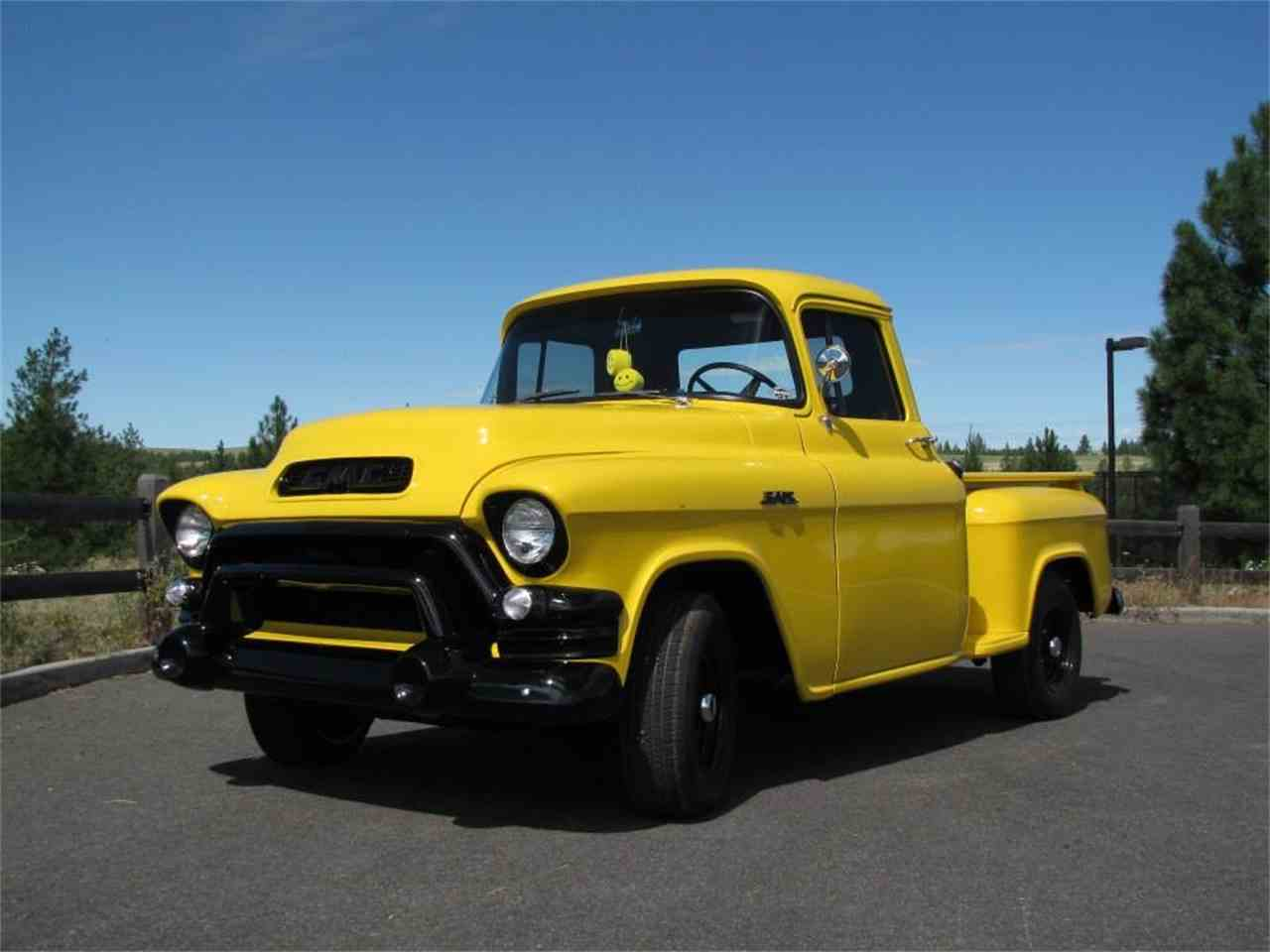 1956 gmc 1 2 ton pickup for sale cc 946911. Black Bedroom Furniture Sets. Home Design Ideas