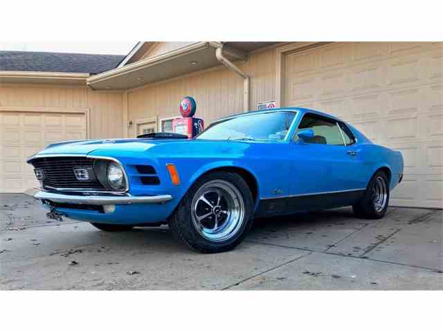 1970 Ford Mustang Mach 1   946938