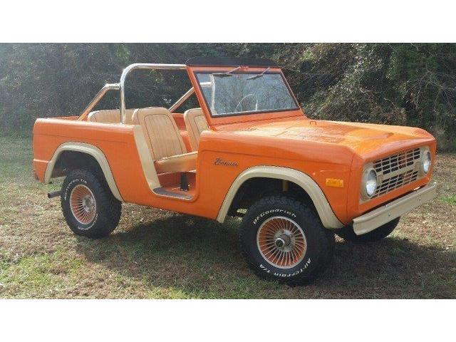 1967 Ford Bronco Roadster   947015