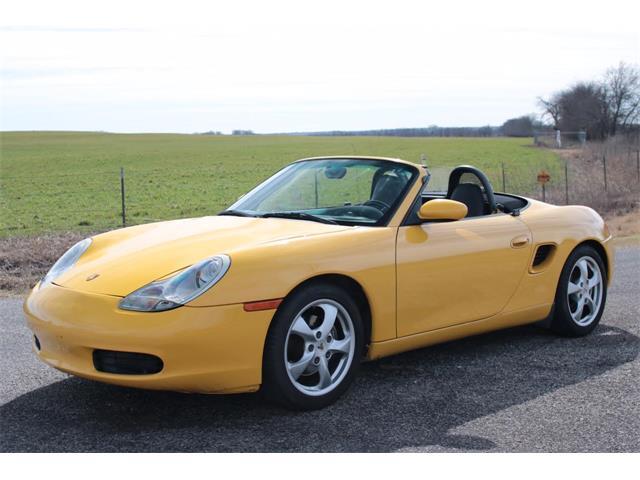 2001 Porsche Boxster   947282