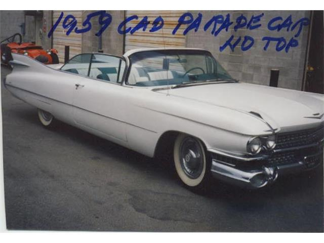 1959 Cadillac Coupe DeVille   940073