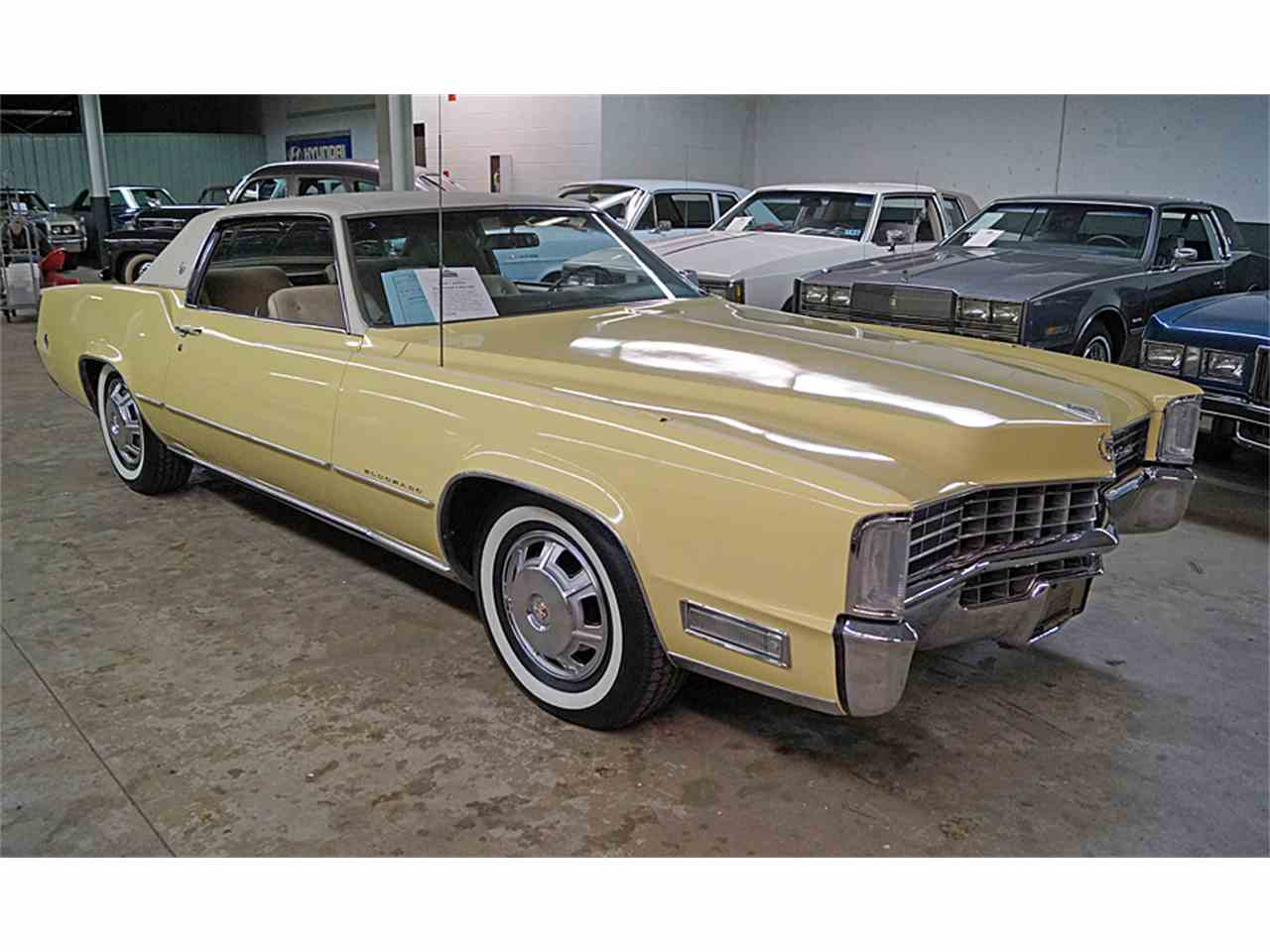 1968 cadillac eldorado for sale cc 947586. Black Bedroom Furniture Sets. Home Design Ideas
