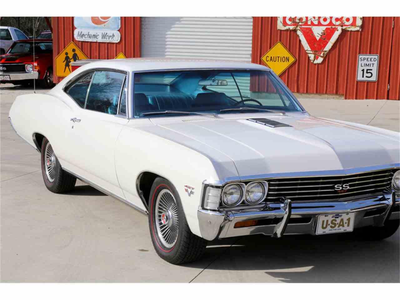1967 chevrolet impala ss for sale cc 947644. Black Bedroom Furniture Sets. Home Design Ideas
