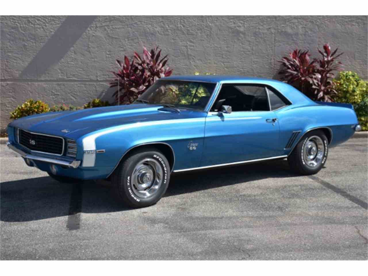 1969 chevrolet camaro rs ss for sale cc 947690. Black Bedroom Furniture Sets. Home Design Ideas