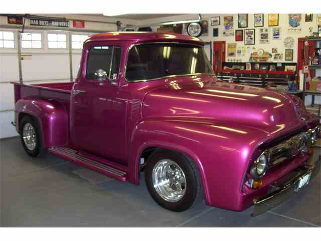 1956 ford f100 for sale on 34 available. Black Bedroom Furniture Sets. Home Design Ideas
