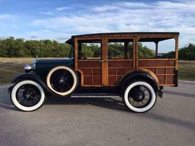 1928 Ford Model A Woody Wagon | 948184