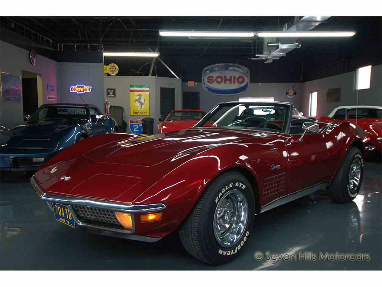 1972 chevrolet corvette for sale cc 948347. Black Bedroom Furniture Sets. Home Design Ideas