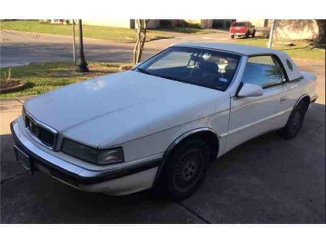 1991 Chrysler TC by Maserati | 948525