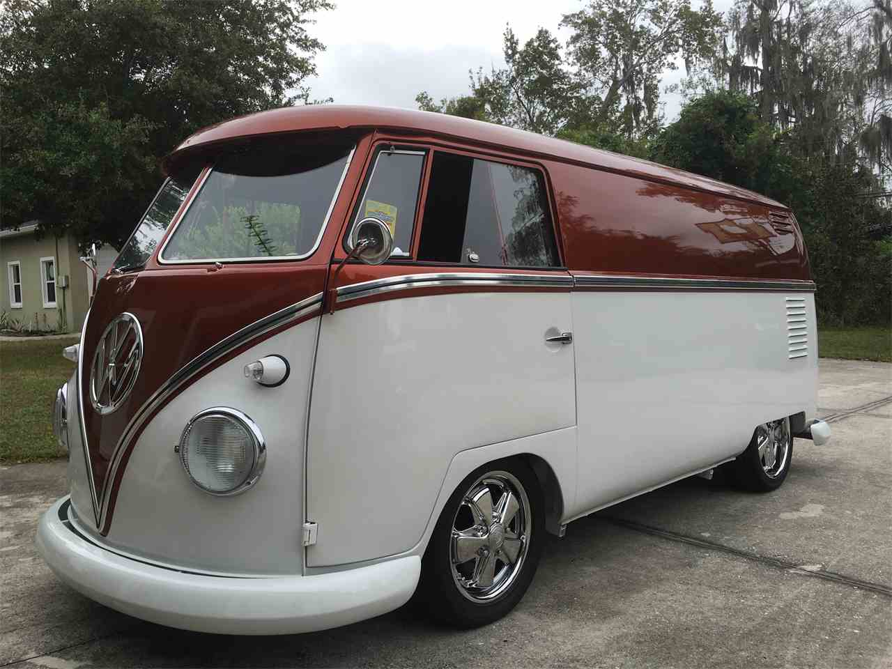 1960 volkswagen bus for sale cc 948620. Black Bedroom Furniture Sets. Home Design Ideas
