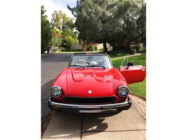 1981 Fiat Spider | 948622