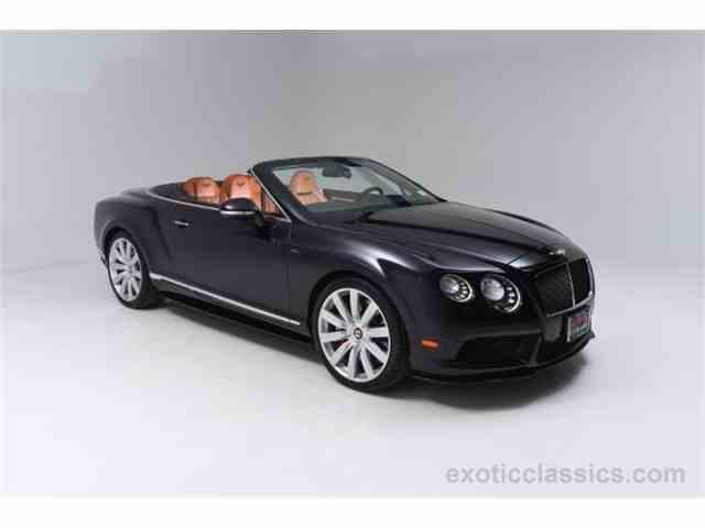 2015 Bentley Continental GTC V8 S   948802