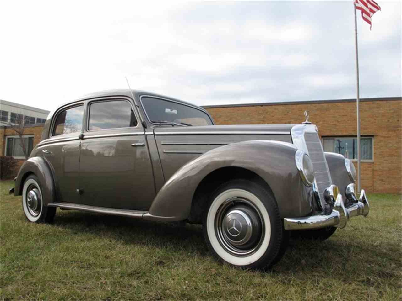1952 mercedes benz 220 for sale cc 949157 for 1952 mercedes benz