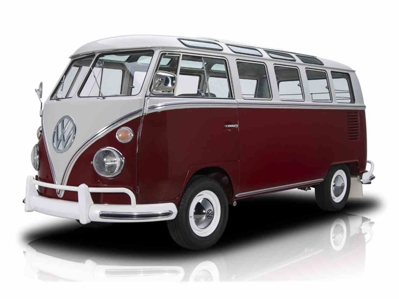 1966 volkswagen kombi 21 window bus for sale cc 949187. Black Bedroom Furniture Sets. Home Design Ideas