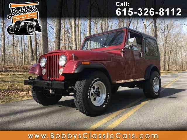1984 Jeep CJ7   949326