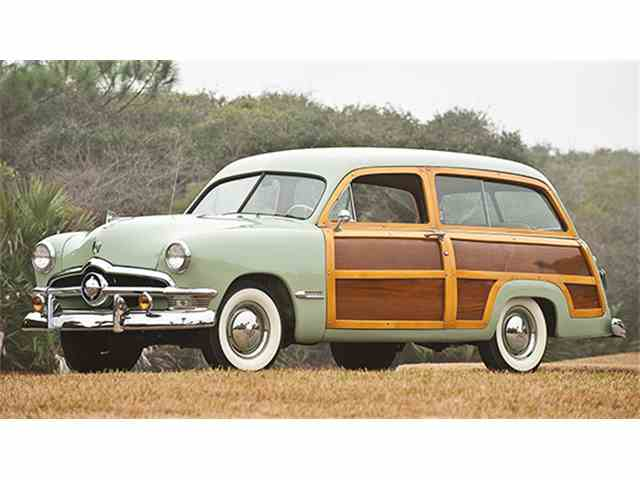 1950 Ford Custom Deluxe V-8 Station Wagon | 949525