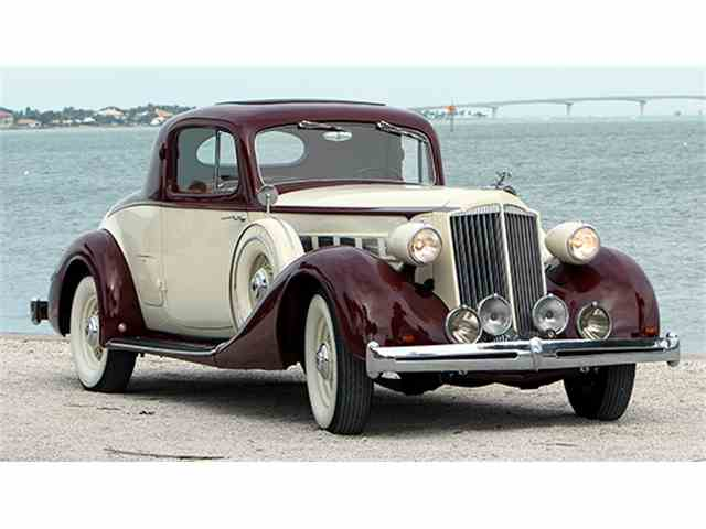 1936 Packard Super Eight 2/4 Passenger Coupe | 949550