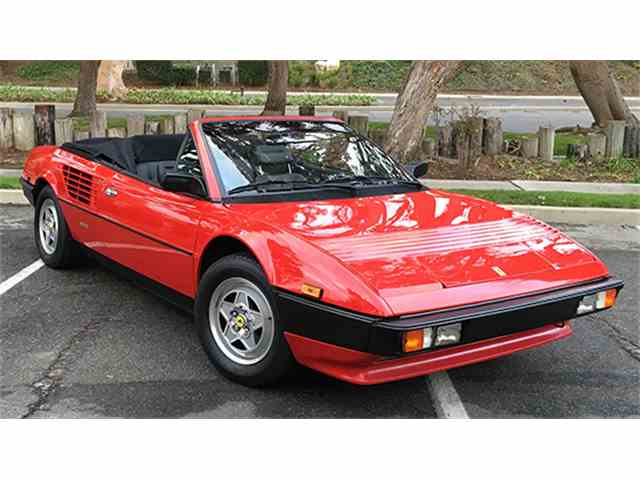 1984 Ferrari Mondial Quattrovalvole Cabriolet | 949552