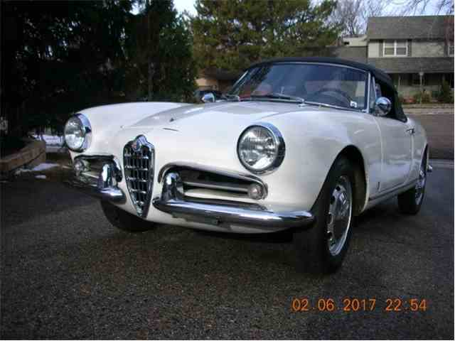 1962 Alfa Romeo Giulietta Spider | 949583