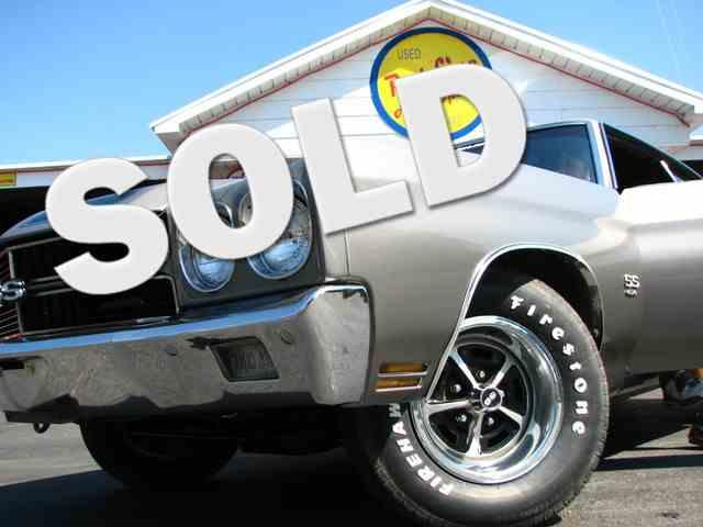 1970 LS-5 SS 454 AUTO AC TILT BUCKET SEATS CONSOLE   949685