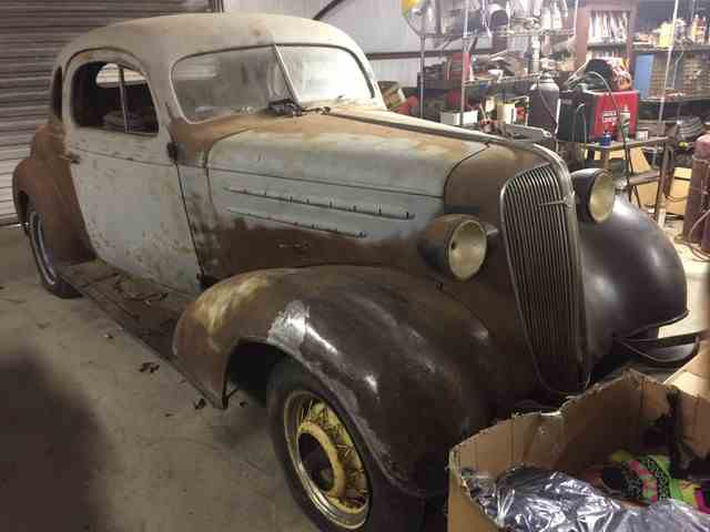 1936 CHEVROLET 2 DOOR PROJECT | 949698