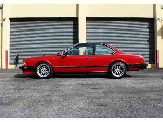 1987 BMW M6 E24 Sharknose | 950010