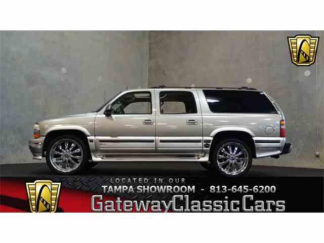 2002 Chevrolet Suburban | 951025