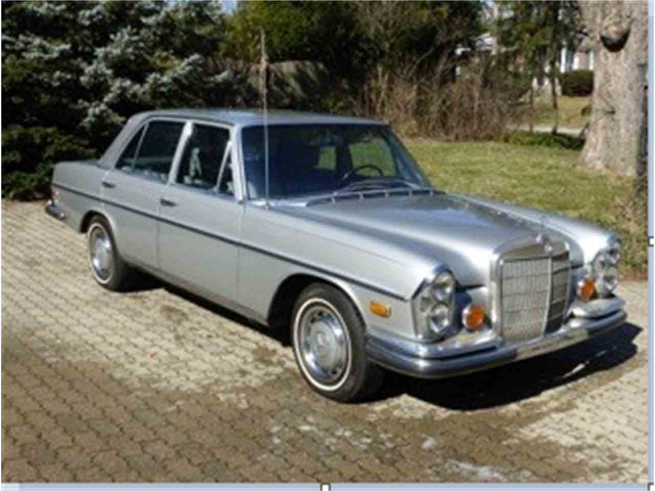 1972 mercedes benz 280se for sale cc. Black Bedroom Furniture Sets. Home Design Ideas