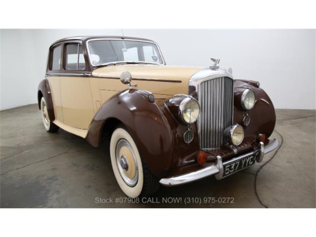 1952 Bentley Mark VI   950114