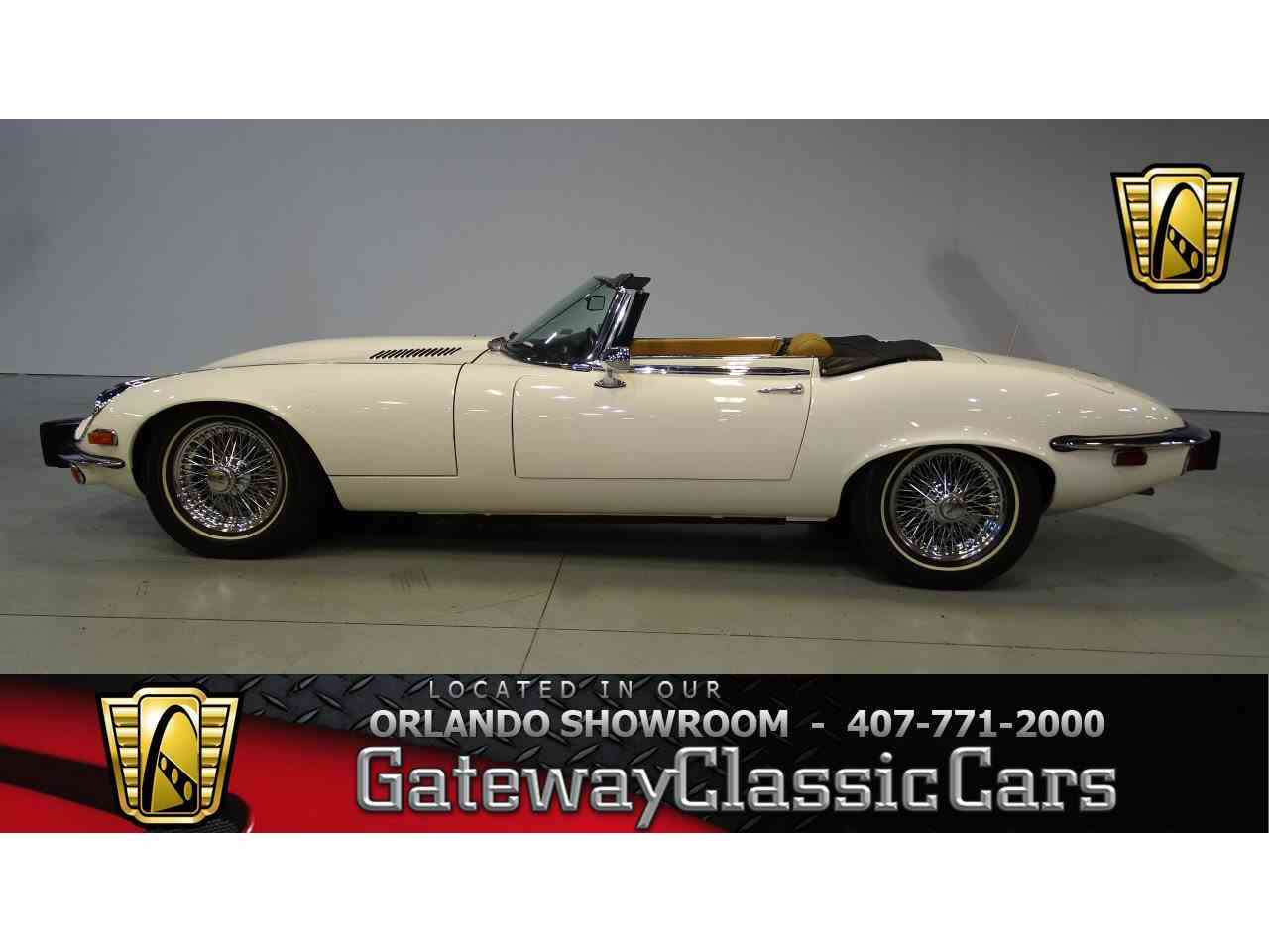 Large Picture of '74 Jaguar E-Type Offered by Gateway Classic Cars - Orlando - KE1Z