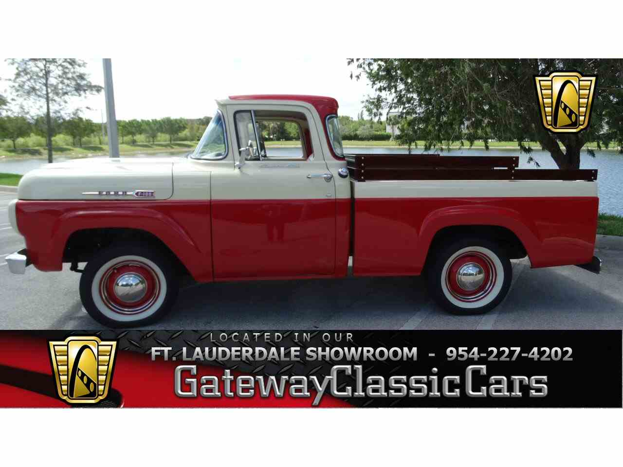 1960 ford f100 952085