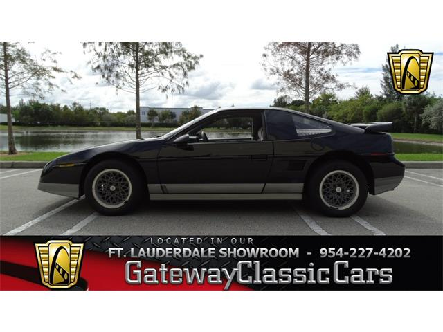 1987 Pontiac Fiero   952191